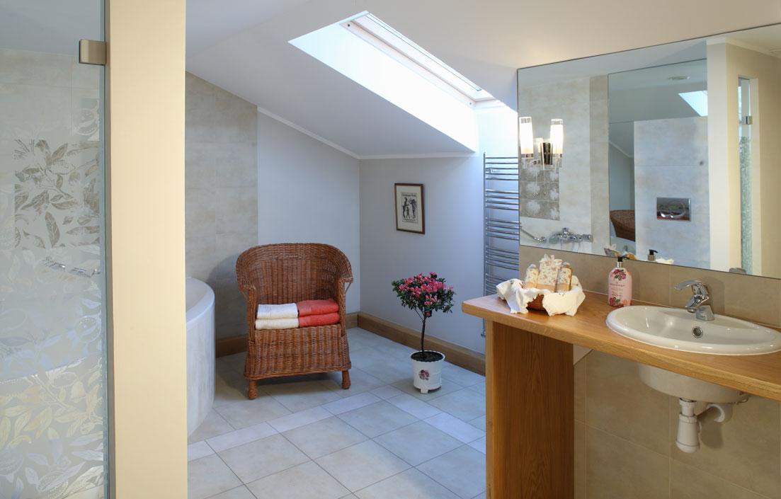 Stylish, comfortable bathrooms